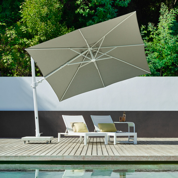 parasol design mauritius parasol inclinable rg boutique. Black Bedroom Furniture Sets. Home Design Ideas