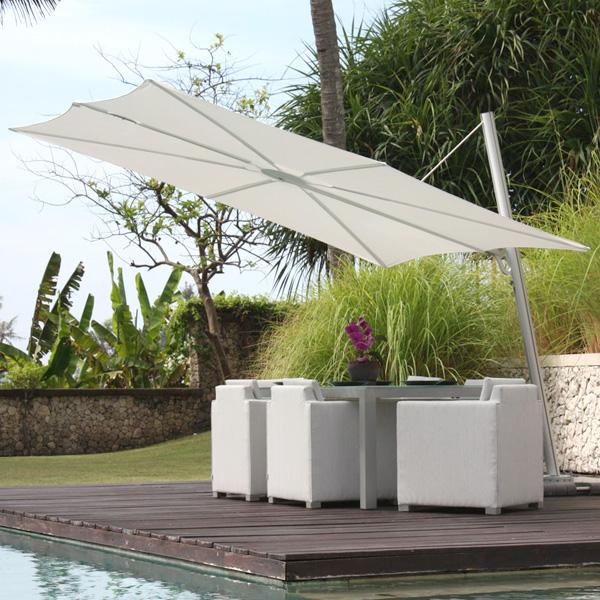 parasol design spectra un parasol sobre et carr rg boutique. Black Bedroom Furniture Sets. Home Design Ideas