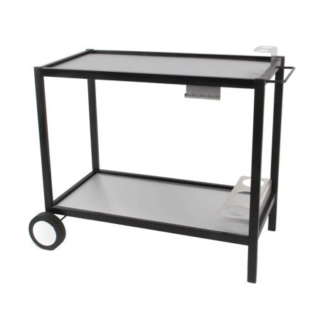 RG Boutique – Chariot métal et plateau inox